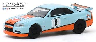 "1:64 2001 Nissan Skyline GT-R (BNR34) ""Gulf Oil"""