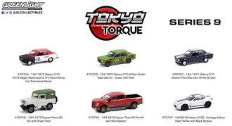 1:64 Tokyo Torque Series 9 (Set of 6)