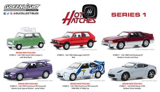 1:64 Hot Hatches Series 1 (Set of 6)