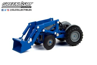 1:64 Down on the Farm Series 5 - 1952 Ford 8N with Front Loader - Blue and Gray