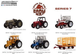 1:64 Down on the Farm Series 7 (Set of 6)