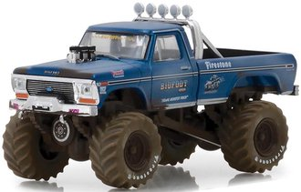 "1:64 Kings of Crunch Series 1 - 1974 Ford F-250 Monster Truck ""Bigfoot #1"" (Dirty Version)"