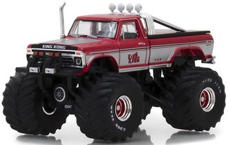 "1:64 Kings of Crunch Series 1 - 1975 Ford F-250 Monster Truck ""King Kong"""