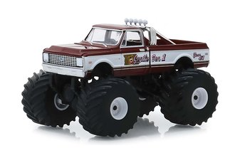 1:64 Kings of Crunch Series 3 - Gentle Ben 1 - 1972 Chevrolet C20 Monster Truck