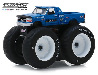 1:64 Kings of Crunch Series 4 - Bigfoot #5 - 1996 Ford F-250 Monster Truck
