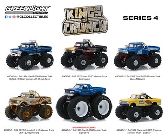 1:64 Kings of Crunch Series 4 (Set of 6)