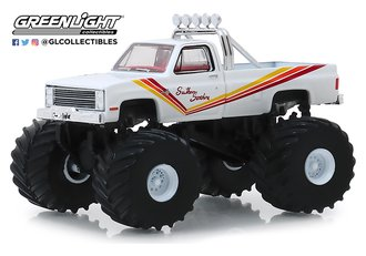 1:64 Kings of Crunch Series 5 - Southern Sunshine - 1981 Chevrolet K20 Silverado Monster Truck