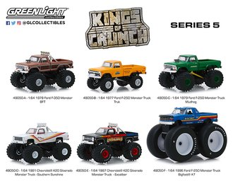 1:64 Kings of Crunch Series 5 (Set of 6)