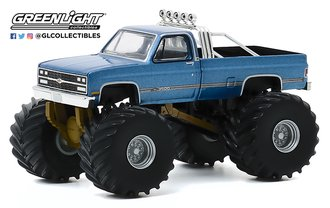 1:64 Kings of Crunch Series 7 - Maiden America - 1977 Chevrolet K-10 Monster Truck
