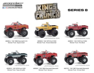 1:64 Kings of Crunch Series 8 (Set of 6)