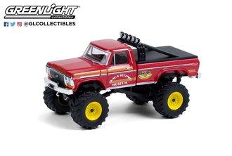 """1:64 Kings of Crunch Series 9 """"Super Monster"""" 1979 Ford F-250 Monster Truck"""