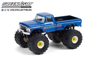 """1:64 Kings of Crunch Series 9 """"West Virginia Mountaineer"""" 1979 Ford F-250 Monster Truck"""