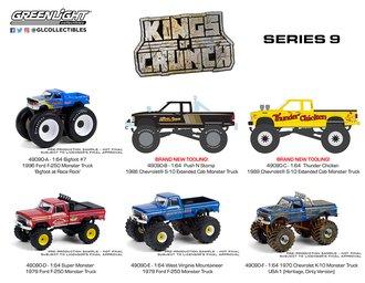 1:64 Kings of Crunch Series 9 (Set of 6)