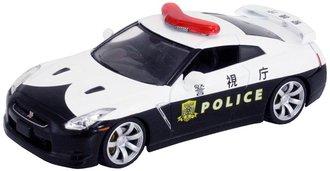 "1:43 2008 Nissan GT-R (R-35) ""Police"" (Black/White)"