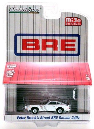 1:64 1971 Datsun 240Z BRE Edition (White/Silver)