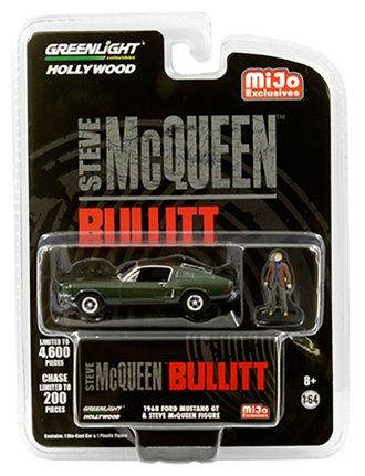 1:64 Bullitt - 1968 Ford Mustang GT w/Steve McQueen Figure