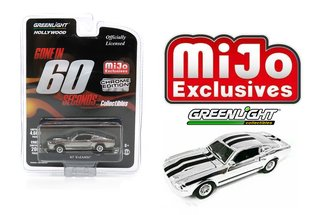 1:64 Hollywood - Gone in 60 Seconds (Chrome Edition) 'Eleanor' 1967 Custom Mustang (Chrome)