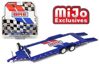 1:64 Brock Racing Enterprises (BRE) Heavy Duty Car Hauler Tag-A-Long Trailer