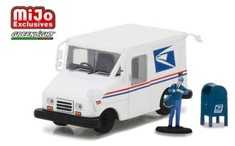 1:64 United States Postal Service (USPS) Grumman Long-Life Postal Delivery Vehicle (LLV) w/Mailbox &