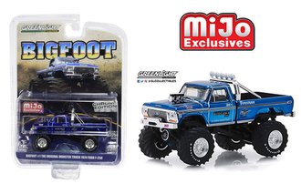 1:64 Original Bigfoot #1 - Monster Truck (Chrome Edition)