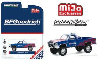 "1:64 1982 GMC K-2500 Custom Pickup Truck 4x4 ""BFGoodrich"""