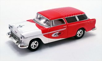 """1:64 1955 Chevrolet Bel Air Nomad """"So-Cal Speed Shop"""""""