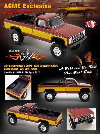 """1:64 1986 Chevrolet K-2500 """"Stunt Double"""" (Fall Guy Tribute)"""