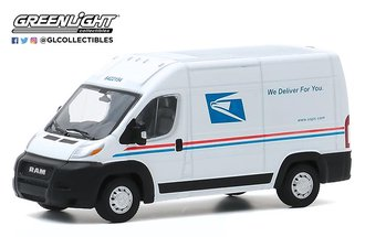 "1:64 2019 RAM ProMaster 2500 Cargo High Roof ""United States Postal Service (USPS)"""