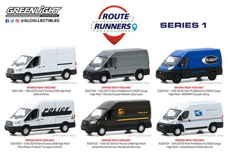 1:64 Route Runners Series 1 (Set of 6)