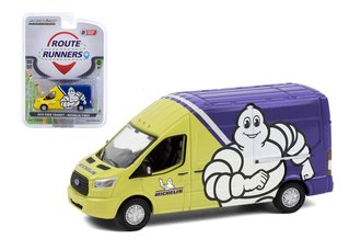 1:64 2019 Ford Transit LWB High Roof - Michelin Tires