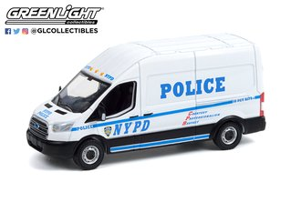 """1:64 2015 Ford Transit LWB High Roof """"New York City Police Department (NYPD)"""""""