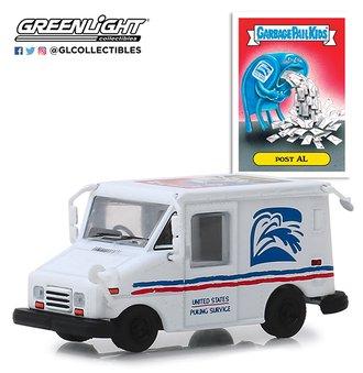 "1:64 Garbage Pail Kids Series 1 - Grumman LLV Mail Truck ""Post Al"""