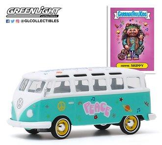 1:64 Garbage Pail Kids Series 2 - Hippie Skippy - 1964 Volkswagen Samba Bus