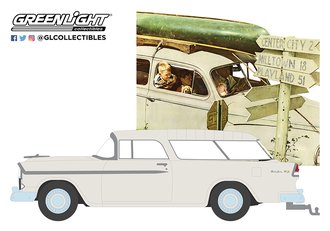 1:64 Norman Rockwell Series 3 - 1955 Chevrolet Nomad