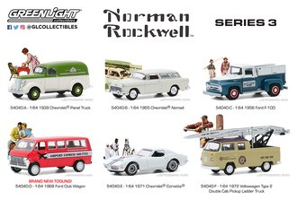 1:64 Norman Rockwell Series 3 (Set of 6)