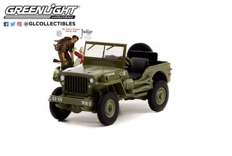 """1:64 Norman Rockwell Series 4 - 1945 Willys MB Jeep """"Royal Netherlands Army"""""""