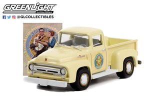 "1:64 Norman Rockwell Series 4 - 1956 Ford F-100 Pickup Truck ""American Legion"""