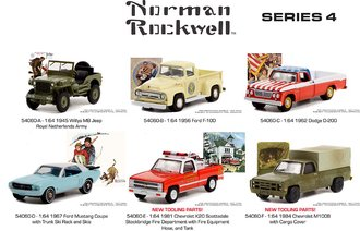 1:64 Norman Rockwell Series 4 (Set of 6)