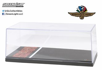 "1:18 Acrylic Display Case ""Indianapolis Motor Speedway Yard of Bricks"" (Special Edition)"