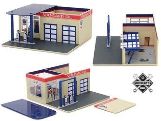 "1:64 Mechanic's Corner Series 3 - Vintage Gas Station ""Standard Oil"""