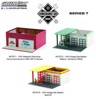 1:64 Mechanic's Corner Series 7 (Set of 3)