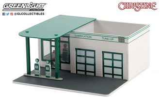 "1:64 Mechanic's Corner Series 7 - Vintage Gas Station ""Mobil"""