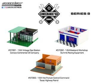1:64 Mechanic's Corner Series 8 (Set of 3)