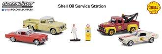 "1:64 Multi-Car Dioramas ""Shell Oil Service Center"""