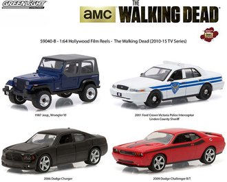 1:64 Hollywood Film Reels Series 4 - The Walking Dead