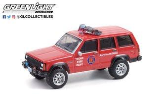 1:64 Fire & Rescue Series 1 - 1990 Jeep Cherokee - Reno, Nevada Fire Department