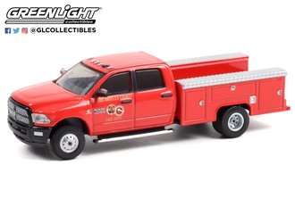 1:64 Fire & Rescue Series 1 - 2017 RAM 3500 Dually - Los Angeles County Fire Department