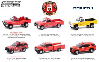 1:64 Fire & Rescue Series 1 (Set of 6)