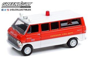 """1:64 1970 Ford Econoline """"Paterson Fire Dept., Paterson, NJ"""""""