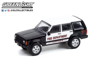 """1:64 2000 Jeep Cherokee """"Scottdale, PA Fire Dept."""""""